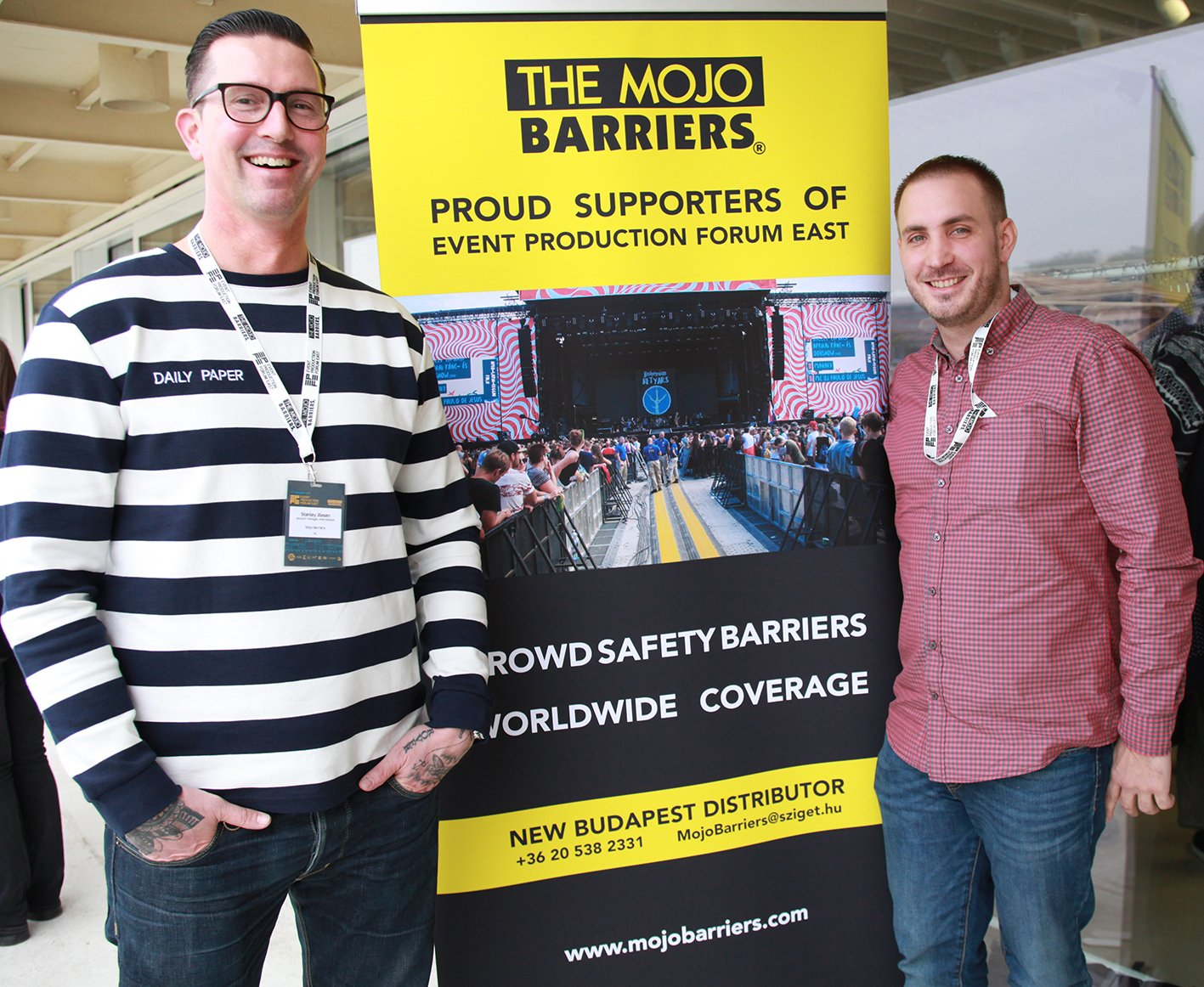 Mojo Barriers appoints New Budapest Distributor
