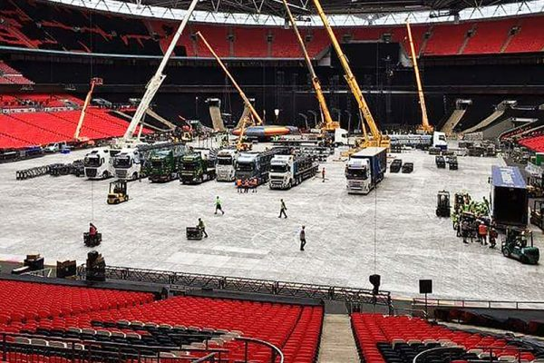 Wembley terratrak plus setup